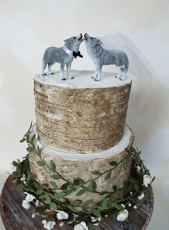 Wolf Wedding Cake