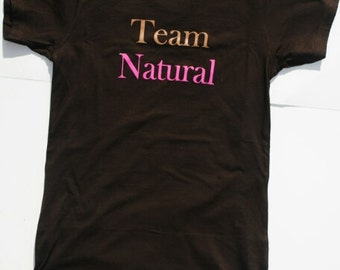 Medium Team Natural Fitted T-Shirt
