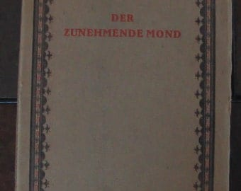 Rabindranath Tagore The Crescent Moon Book Nobel Peace Prize Winner Written In German