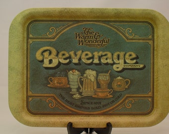 Vntg 1979 Beverage Co. Tray