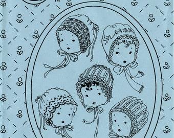 Bonnet Pattern / Christening Bonnet / Heirloom Bonnet / by The Old Fashioned Baby