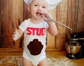 Stud Muffin Bodysuit,Valentines Bodysuit,Boys Bodysuit,Boys Valentine Bodysuit,Stud Muffin Bodysuit, Boys Bodysuit, Childrens Bodysuit,