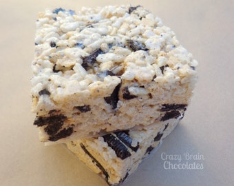 Oreo Cookie Rice Krispie Treats (12)