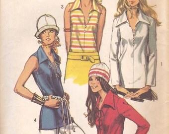 Pretty 70s Blouse Pattern Simplicity 9460 Size 20