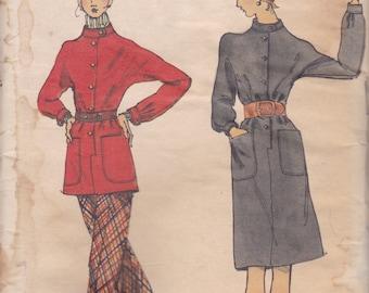 Winter Tunic or Dress Pattern Vogue 8372 Size 12