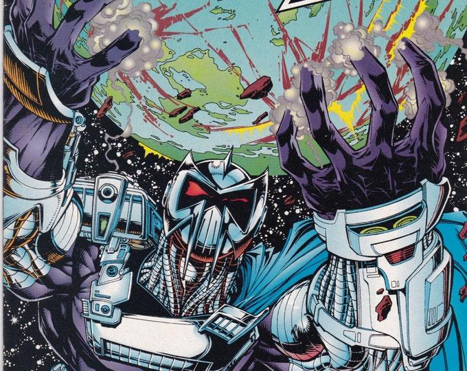 Vintage The Ray Number 13 June 1995 DC Comics - Super Hero - Ray Terrill - Golden Age Ray - Brimstone - Darkseid - Superboy - Metropolis