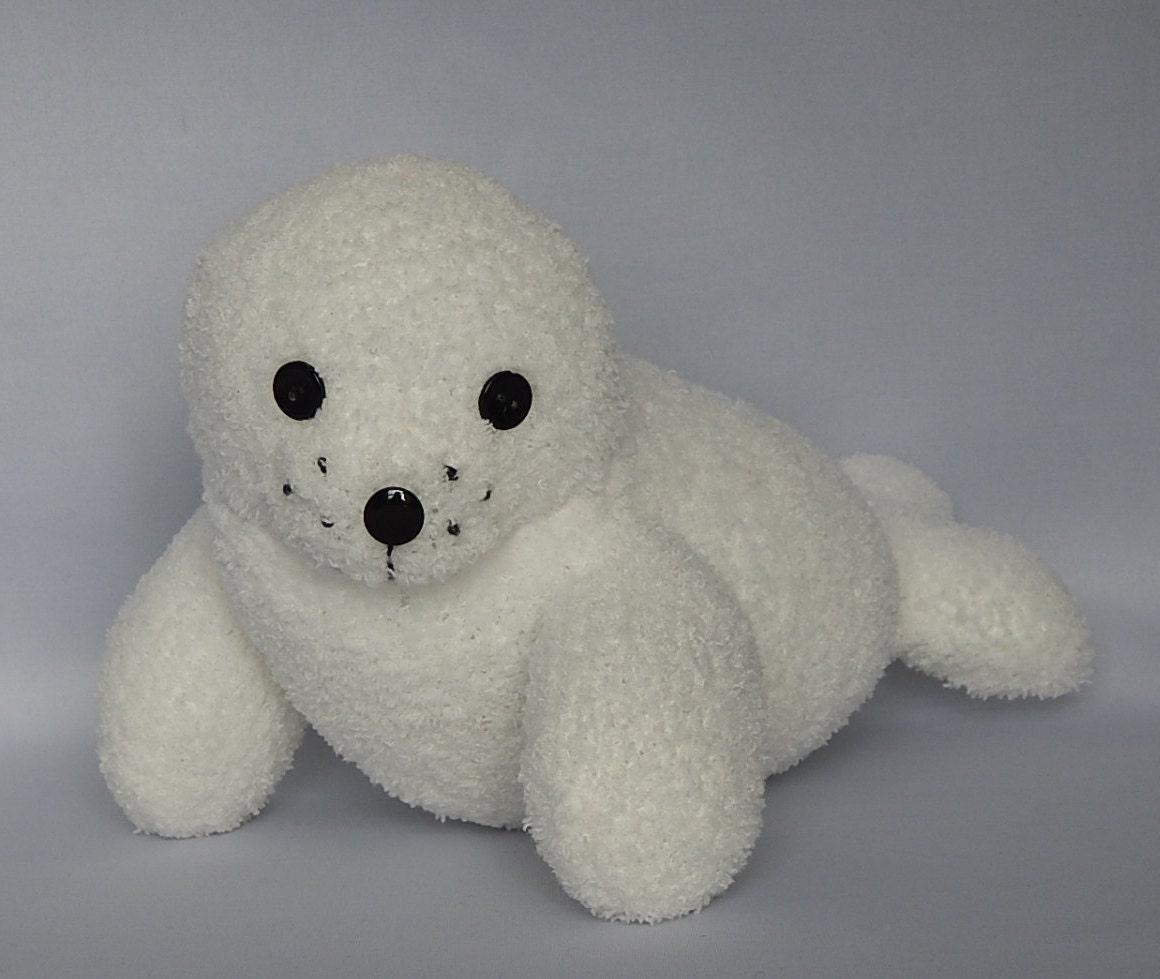 seal pup plush toy baby seal stuffed animal stuffed toy