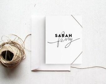 Handwritten Logo |  Premade Logo | Photography Logo | Modern Logo | Identity Branding | Full Logo Suite
