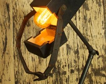 Vintage Reclaimed Voltage Tester Lamp