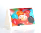 Easter Card Sets, Happy Easter Cards, Jelly Beans Cards, Blank Easter Greeting Cards, Cute Easter Cards, Note Cards for Kids