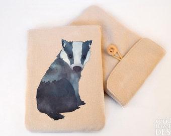 Badger Digital Media Case, ipad Case, Kindle Case, Tablet Case, Padded Sleeve, Protective Case