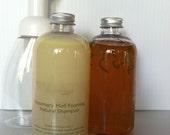 Natural Shampoo and Kombucha Hair Rinse Set 8oz
