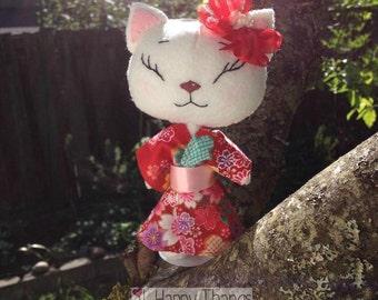 Hikari Kimono Kitten