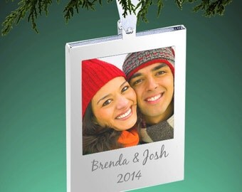 Silver Plated Photo Frame Ornament