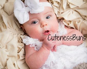 Baby headband, You pick color, Baby Headbands, mint bow, Hairbow, Baby Bows, Head band, baby girl Headband, chevron headband