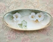 Stunning Antique Small Porcelain Dish