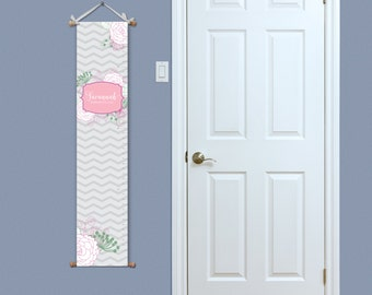 Custom growth chart etsy