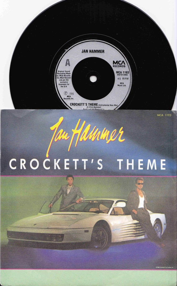 Jan hammer - crocketts theme (hd music video) - vice-tv - deux flics 0e0 miami