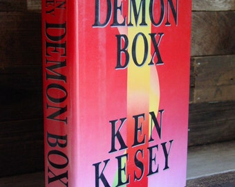 Demon Box By Ken Kesey 1st Edition 1980s Vintage Hardcover In Dustjacket Modern Classics American Literature Beatniks Hippies