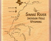 Fly Box - SNAKE RIVER MAP...