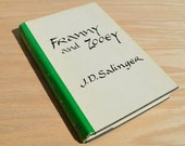 Franny and Zooey by J D Salinger, Vintage Classic, Dust jacket, Little Brown