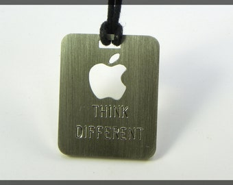 Think Different - Pendant sterling silver 925