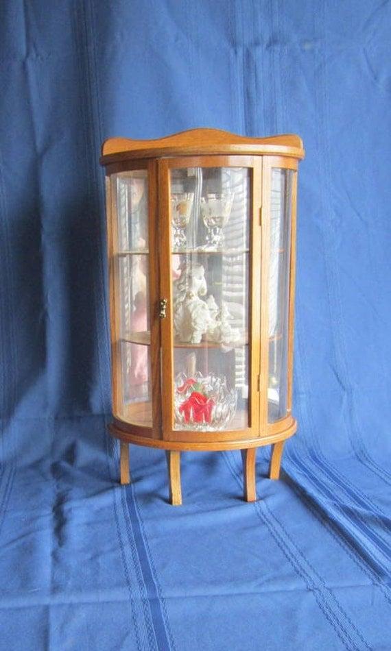 trinket display case wood d cor display case by gingernirie. Black Bedroom Furniture Sets. Home Design Ideas