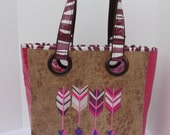 Mamacita Loca Pink Arrows Bag