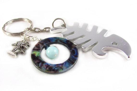 keychain bottle opener key chain bottle by earthlietreasures. Black Bedroom Furniture Sets. Home Design Ideas