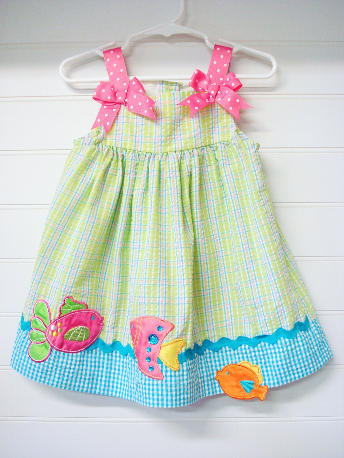 Vintage Baby Clothes Baby Dress With Bloomers by