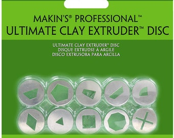 """Set """"A"""" Makin's  extruder adapters, 10 piece"""