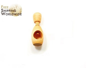 Wooden Nutcracker Simple One Hole from Beech wood