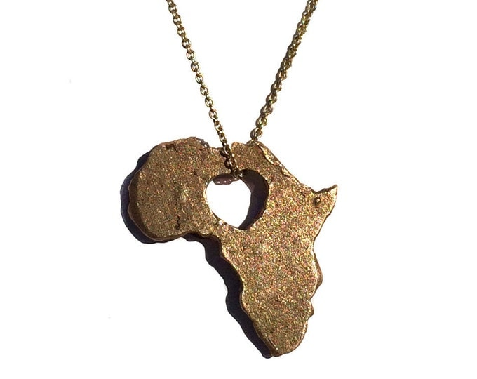 AFRICA Bronze necklace by States of Love