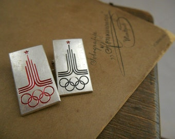 Russian Soviet Olympic Games Pin Sport badge Soviet collectible