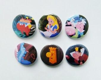 Alice in Wonderland Pins