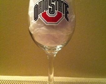 OSU Wine Glass, Wine Glass