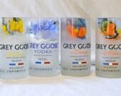 4 Grey Goose Tumbler drinking glasses