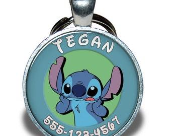 Pet ID Tag - Stitch Lilo and Stitch *Inspired*