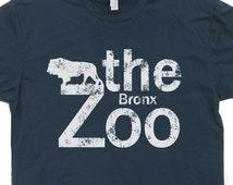 The Bronx Zoo T Shirt Retro New York City T Shirt NYC Lion Vintage Circus T Shirt Animal Shirts Yankees Mets knicks Mens Womens Kids Tees