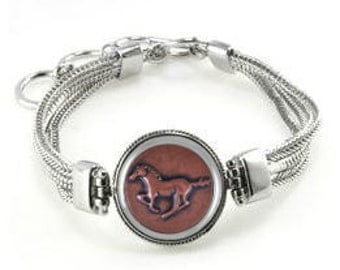 Horse Bracelet - Horse Gifts - Horses - Horse Jewelry - Christmas Gift For Horse Lover - Horse