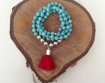 Trafalgar Hand knotted Necklace