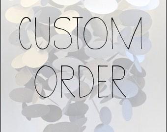 Nursery Mobile, Custom Order Nursery Mobile, Customizable, Paper Mobile, Custom Mobile for Nursery