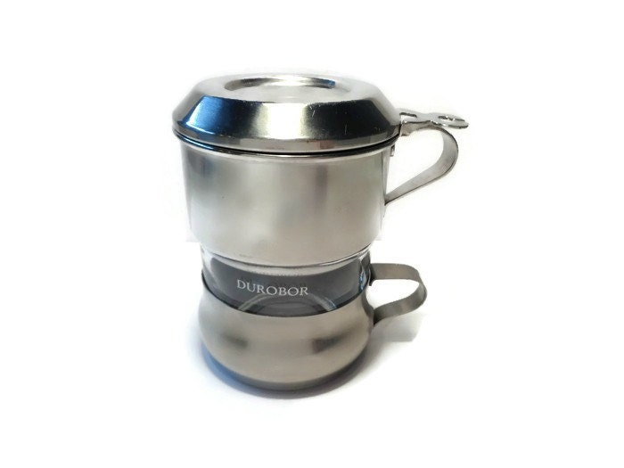 Old Drip Coffee Maker : Vintage Single Cup Coffee Maker . Coffee Drip o Lator . One