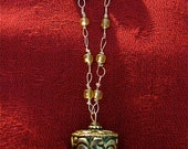 Tibetan Prayer wheel,Tibetan prayer wheel necklace,Tibetan wire wrapped mala/necklace