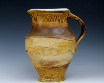 handmade pitcher