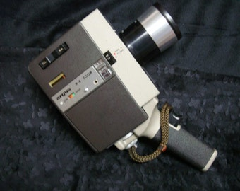 Camera Argus M4 Power Zoom 8mm Movie Camera