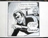 "Surprise, Vladimir... Original art from ""Intruder 9000"" by Lasky"