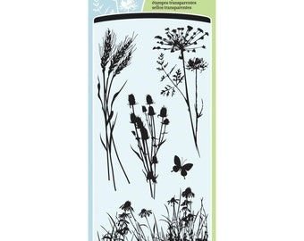 Inkadinkado Clear Stamps Meadow