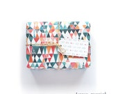 Watercolour Geometric Wrapping Paper