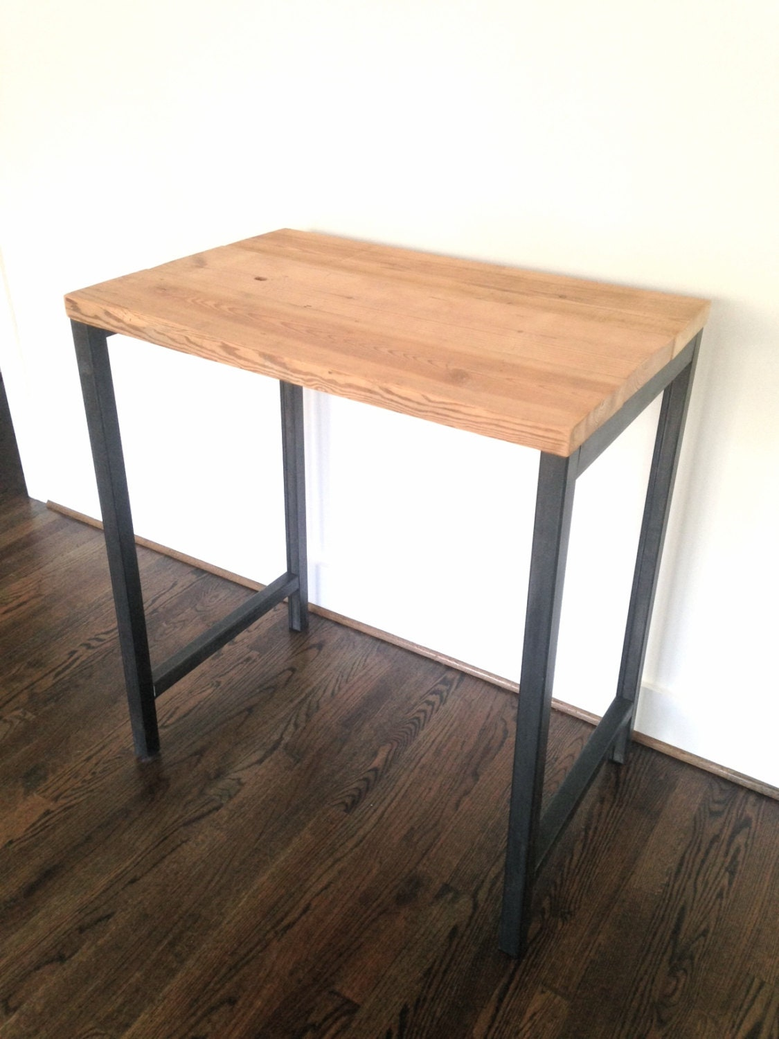 Monterey Reclaimed Wood Standing Desk Reclaimed By